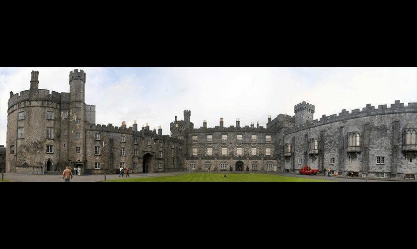 El castillo de Kilkenny, Irlanda