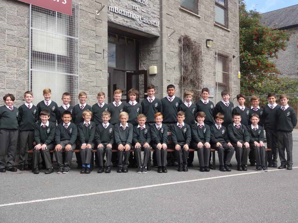 Clase en colegio irlandés