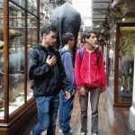 Visit to museum in Ireland during summer course