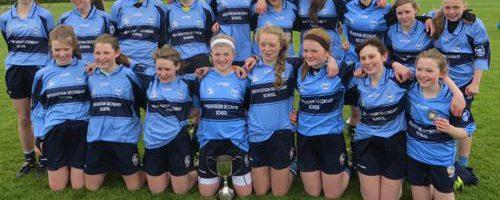 Equipo femenino en colegio en Irlanda