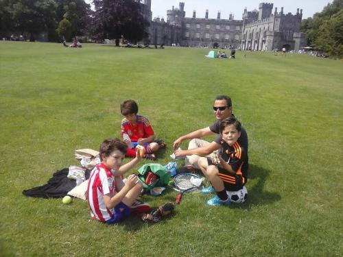 Año escolar en familia en Irlanda