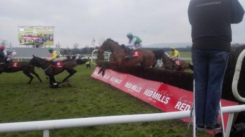 Carrera de caballos en Irlanda