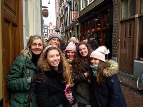 Por las calles de Amsterdam con eeagency