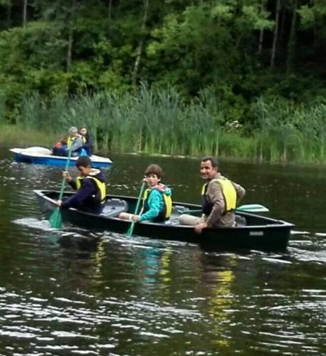 En canoa en Irlanda