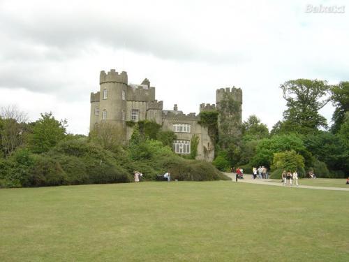 Excursión a castillo en Irlanda