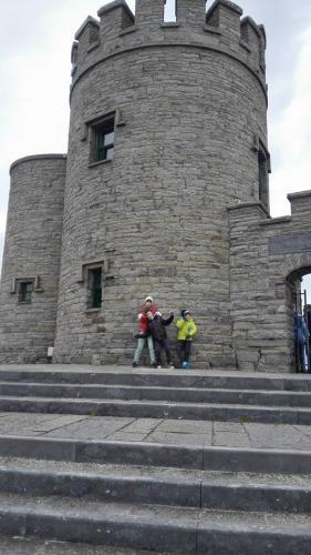 Excursión al castillo en Irlanda