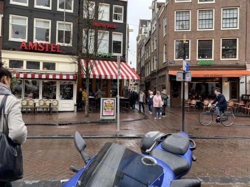 Dando un paseo por Amsterdam con eeagency